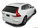 2019 Volvo XC60 T8 Inscription eAWD Plug-in Hybrid, rear 3/4 angle view.