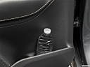 2019 Volvo XC90 T6 Momentum, second row side cup holder with coffee prop, or second row door cup holder with water bottle.