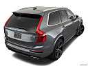 2019 Volvo XC90 T6 Momentum, rear 3/4 angle view.