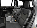 2019 Volvo XC90 T5 AWD R-Design, rear seats from drivers side.