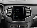 2019 Volvo XC90 T5 AWD R-Design, closeup of radio head unit