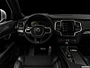 "2019 Volvo XC90 T5 AWD R-Design, centered wide dash shot - ""night"" shot."