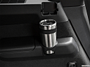 2019 Volvo XC90 T5 AWD R-Design, third row side cup holder with coffee prop.