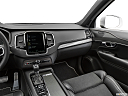 2019 Volvo XC90 T5 AWD R-Design, center console/passenger side.