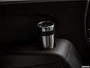 2020 Acura MDX, third row side cup holder with coffee prop.