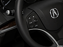 2020 Acura MDX, steering wheel controls (left side)