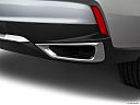 2020 Acura MDX, chrome tip exhaust pipe.