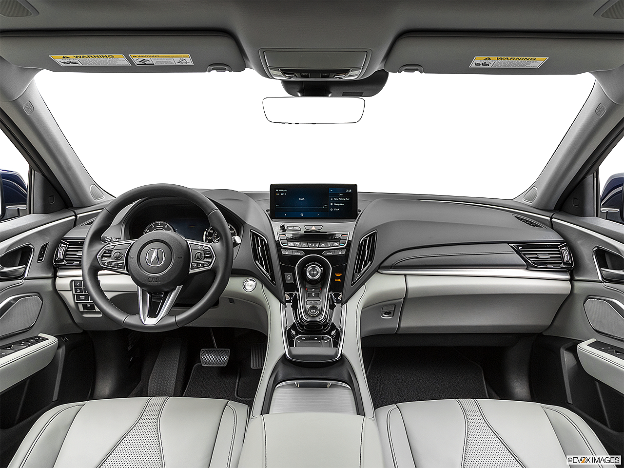 2020 Acura RDX, centered wide dash shot