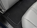 2020 Acura RDX, rear driver's side floor mat. mid-seat level from outside looking in.