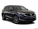 2020 Acura RDX, front passenger 3/4 w/ wheels turned.