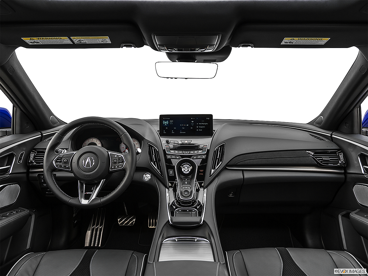 2020 Acura RDX A-Spec Package, centered wide dash shot