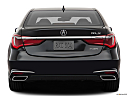 2020 Acura RLX, low/wide rear.