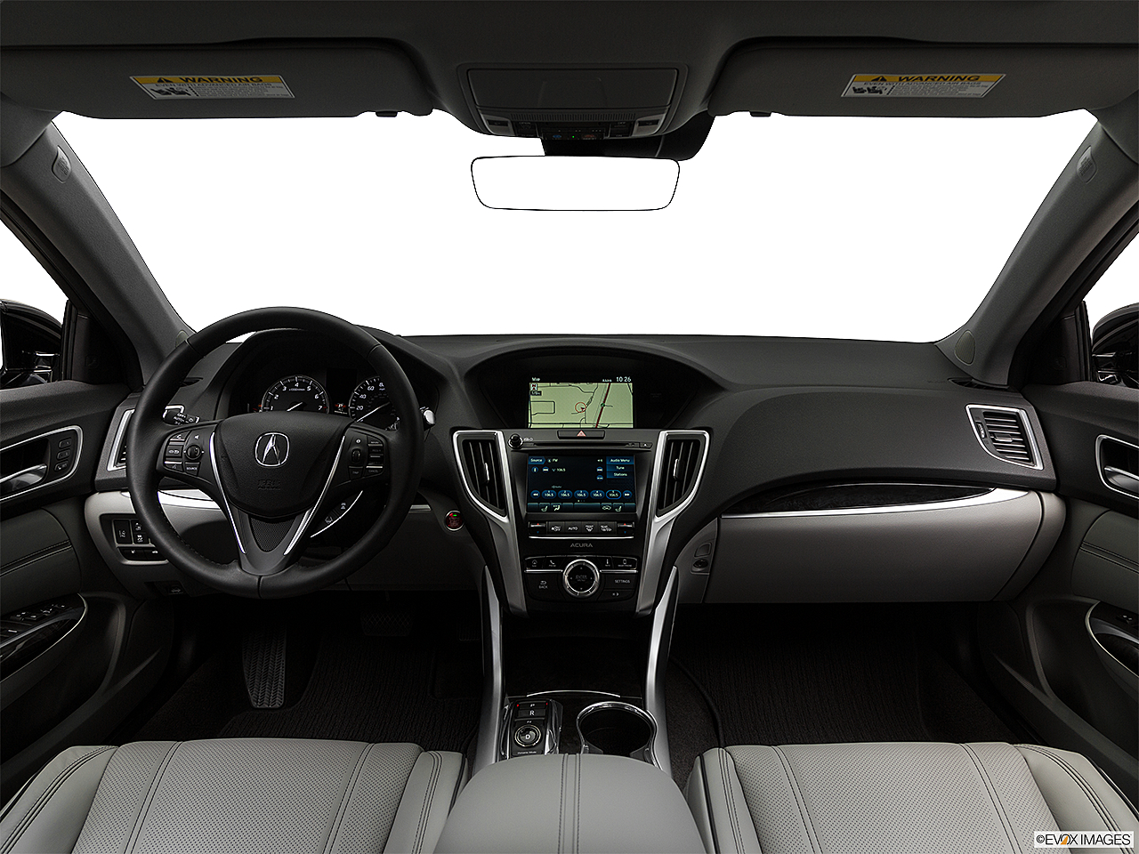 2020 Acura TLX 3.5L w/ Technology Package, centered wide dash shot