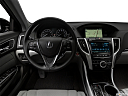 2020 Acura TLX 3.5L w/ Technology Package, steering wheel/center console.