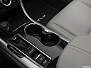 2020 Acura TLX 2.4 8-DCT P-AWS, cup holders.