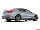 2020 Acura TLX 2.4 8-DCT P-AWS, low/wide rear 5/8.