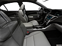 2020 Acura TLX 2.4 8-DCT P-AWS, fake buck shot - interior from passenger b pillar.