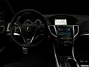"2020 Acura TLX 3.5L, centered wide dash shot - ""night"" shot."