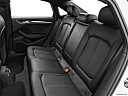 2020 Audi A3 Premium 40 TFSI, rear seats from drivers side.