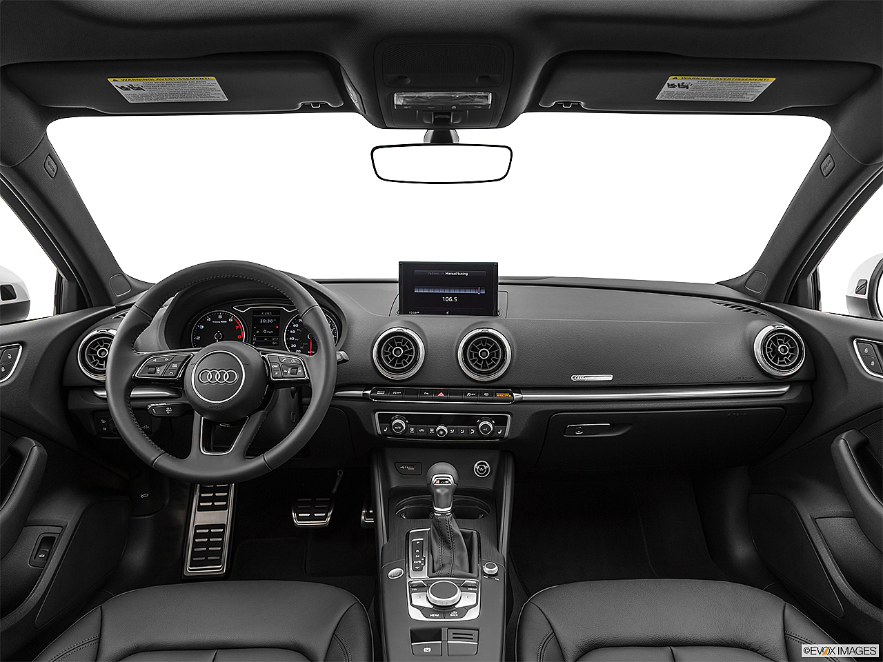 2020 Audi A3 Premium 40 TFSI, centered wide dash shot