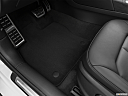 2020 Audi A3 Premium 40 TFSI, driver's floor mat and pedals. mid-seat level from outside looking in.