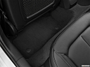 2020 Audi A3 Premium 40 TFSI, rear driver's side floor mat. mid-seat level from outside looking in.