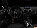 "2020 Audi A3 Premium 40 TFSI, centered wide dash shot - ""night"" shot."