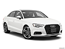 2020 Audi A3 Premium 40 TFSI, front passenger 3/4 w/ wheels turned.