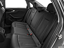 2020 Audi A4 Premium 40 TFSI, rear seats from drivers side.