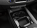 2020 Audi A4 Premium 40 TFSI, cup holders.