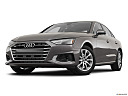 2020 Audi A4 Premium 40 TFSI, front angle view, low wide perspective.