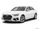 2020 Audi A4 Premium Plus 45 TFSI, front angle medium view.