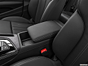 2020 Audi A4 Premium Plus 45 TFSI, front center console with closed lid, from driver's side looking down
