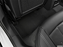 2020 Audi A4 Premium Plus 45 TFSI, rear driver's side floor mat. mid-seat level from outside looking in.