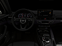 "2020 Audi A4 Premium Plus 45 TFSI, centered wide dash shot - ""night"" shot."