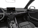 2020 Audi A4 Premium Plus 45 TFSI, center console/passenger side.