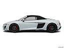 2020 Audi R8 Spyder V10, drivers side profile, convertible top up (convertibles only).