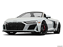 2020 Audi R8 Spyder V10, front angle view, low wide perspective.