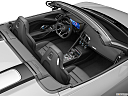 2020 Audi R8 Spyder V10, convertible hero (high from passenger, looking down into interior).