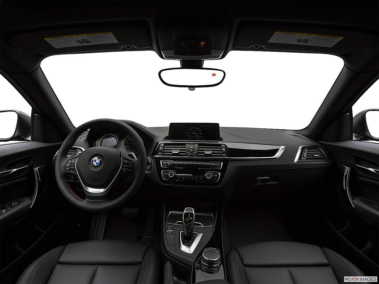 2020 BMW 2-series 230i, centered wide dash shot