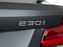 2020 BMW 2-series 230i, rear model badge/emblem