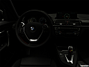 "2020 BMW 2-series 230i, centered wide dash shot - ""night"" shot."