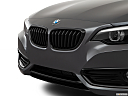 2020 BMW 2-series 230i, close up of grill.