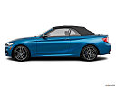 2020 BMW 2-series M240i, drivers side profile, convertible top up (convertibles only).