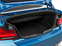 2020 BMW 2-series M240i, trunk open.
