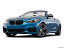 2020 BMW 2-series M240i, front angle view, low wide perspective.