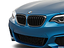 2020 BMW 2-series M240i, close up of grill.