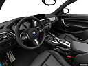 2020 BMW 2-series M240i, interior hero (driver's side).