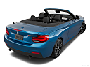 2020 BMW 2-series M240i, rear 3/4 angle view.
