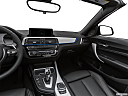 2020 BMW 2-series M240i, center console/passenger side.